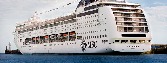 MSC Lirica will home-port in Shanghai starting next year.