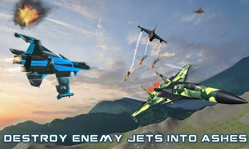 US Air Force Military Pilot Sky Battle 3D filehippodl screenshot 5