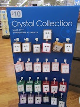 Photo: This beautiful Crystal Collection caught my eye when I was walking by, I thought that our niece would love this necklace and earrings for Christmas and the price is excellent.