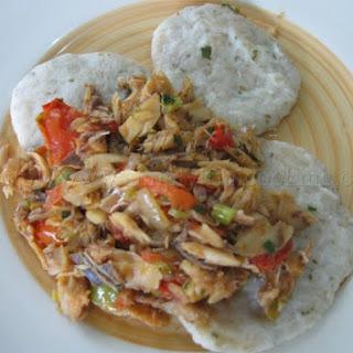 Dumpling and Saltfish.