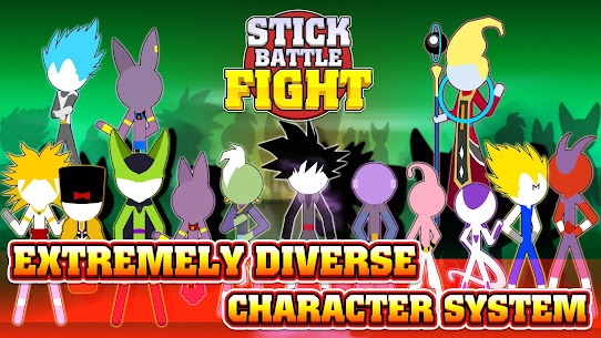 Stick Battle Fight 1