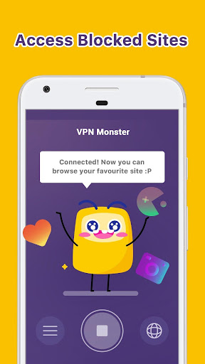 Unlimited Free VPN Monster - Fast Secure VPN Proxy 1.4.2 screenshots 1