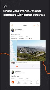 Strava tracker: Record running, cycling & swimming Screenshot