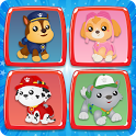 Babies Pups Patrol Memory icon