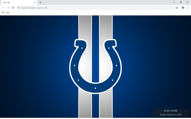 Indianapolis Colts New Tab Theme