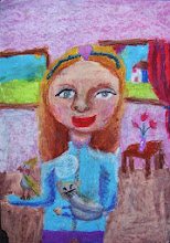 Photo: Силаева Лиза 7 лет. Студ. Т. Белоконенко. Израиль. г. Хайфа