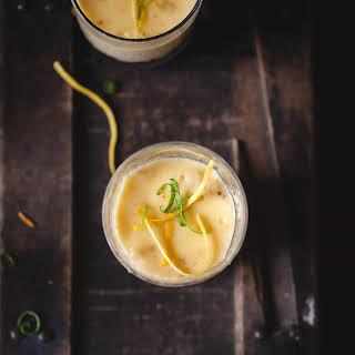 Citrus and Vanilla Bean Posset.
