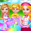 Mommy Twins Baby Sisters Glitter Slime Maker icon