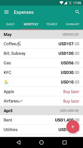 無料财经Appのマネーマネージャー - 費用、収入|HotApp4Game
