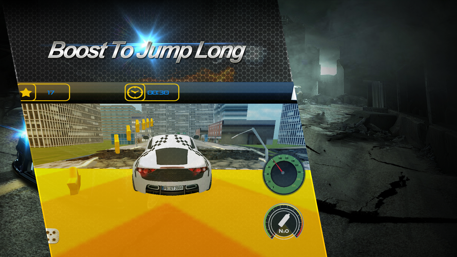 Fast Car Racer-Jumping- screenshot