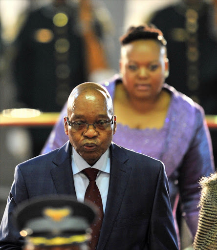 Kuthi whuuu - President Jacob Zuma has to personally bear the legal costs for his corruption court case.