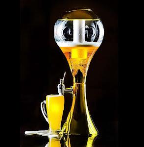 Dozator cu racitor pentru bere, capacitate 3 L