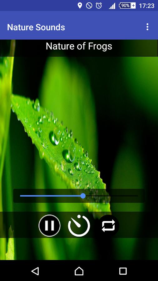 Ήχοι της Φύσης - στιγμιότυπο οθόνης