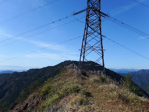鉄塔ピークは絶景地