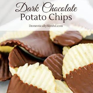 Dark Chocolate Potato Chips.