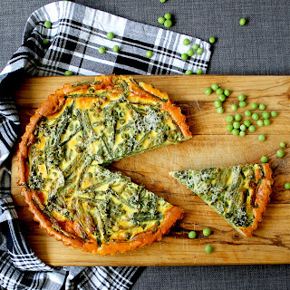 Spring Vegetable Quiche (V) Recipe