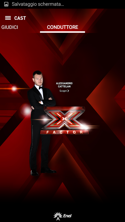 X Factor 2015- screenshot