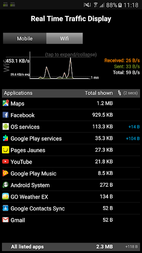 3G Watchdog screenshot 5
