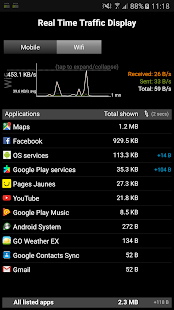 3G Watchdog - Data Usage- screenshot thumbnail