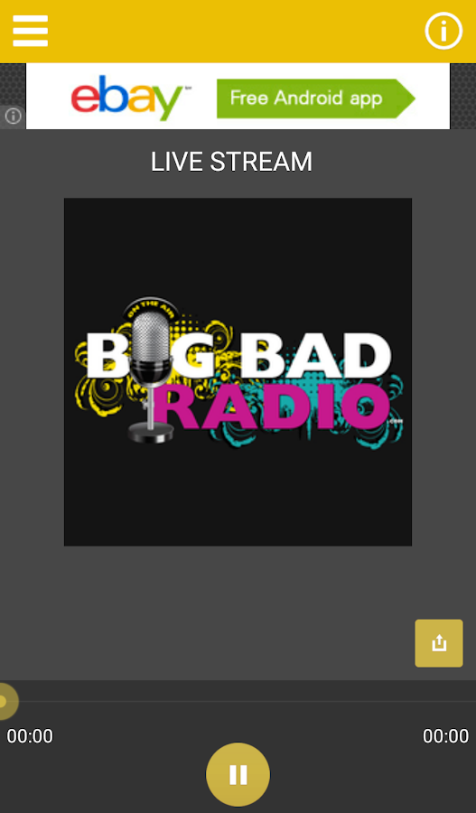 Big Bad Radio- screenshot