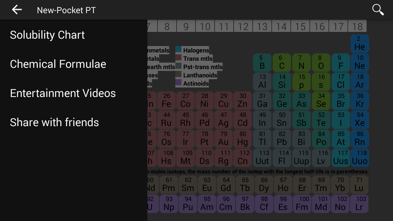 New pocket periodic table android apps on google play new pocket periodic table screenshot gamestrikefo Images