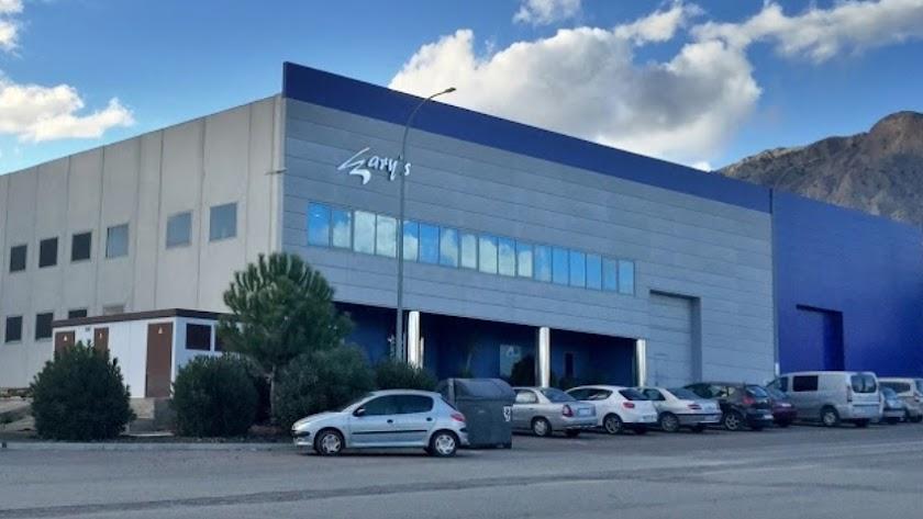 Instalaciones de la empresa Gary\'s en Vélez-Rubio.
