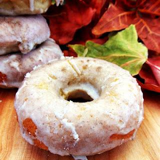 Apple Cardamom Cake Donuts