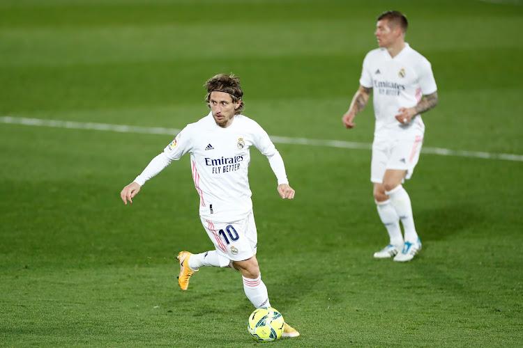 Luka Modric un peu plus longtemps au Real Madrid