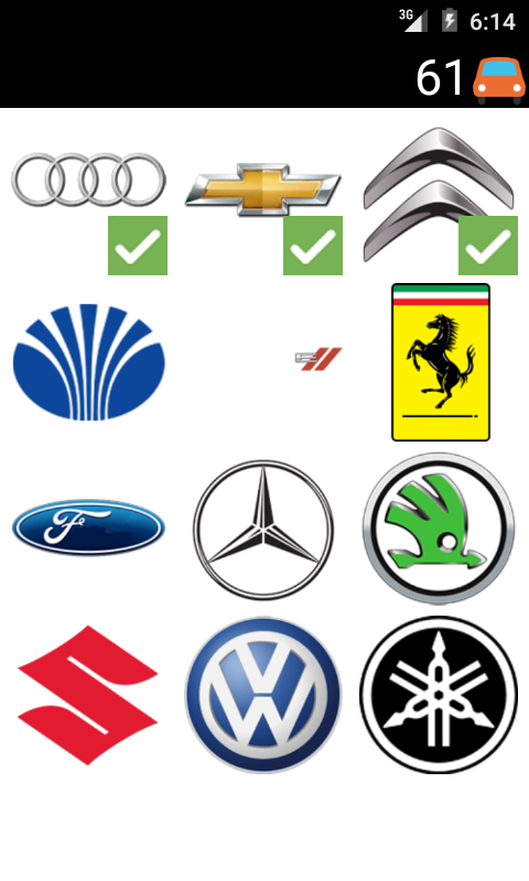cars logo quiz android apps on google play. Black Bedroom Furniture Sets. Home Design Ideas