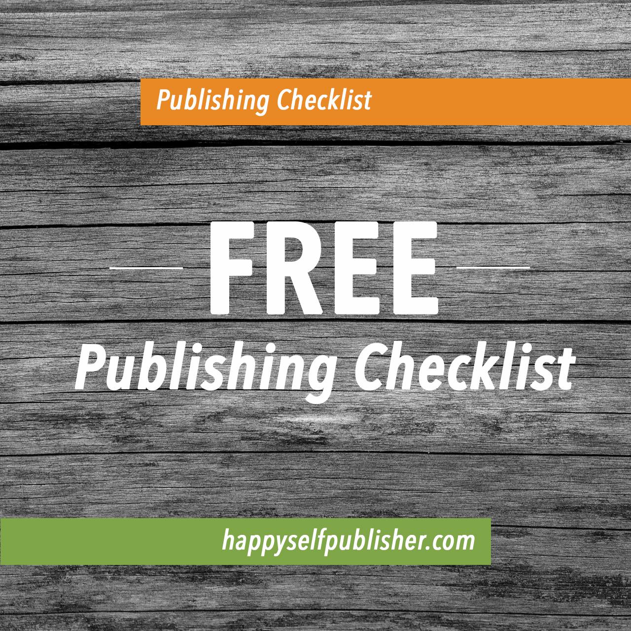 Publishing Checklist