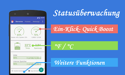 Assistant for Android - 1MB – Miniaturansicht des Screenshots