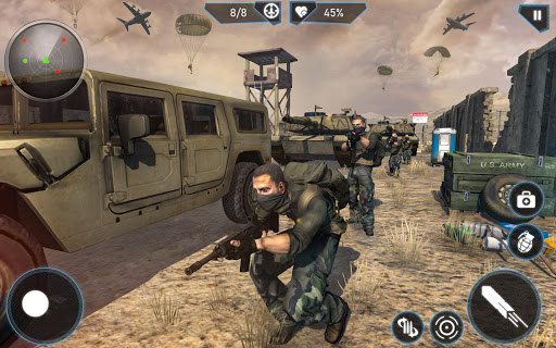 Télécharger Gratuit Modern FPS Combat Mission - Free Action Games 2020 mod apk screenshots 3