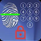 Screen Lock - with Fingerprint Simulator icon