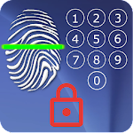 Screen Lock - with Fingerprint Simulator Icon
