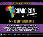 A.I. Fest at Comic Con Africa 2018 : Kyalami Exhibition And Conference Centre