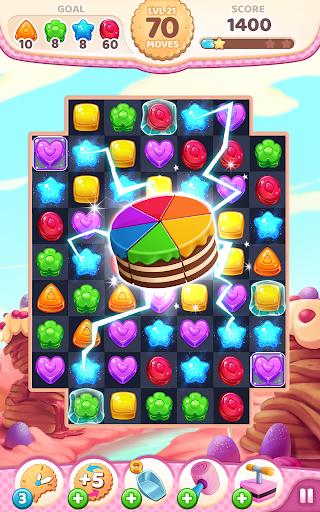 Cookie Rush Match 3 2.1.3 Mod screenshots 1