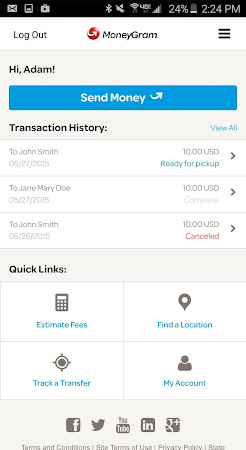 MoneyGram 2.0.6 screenshot 299966