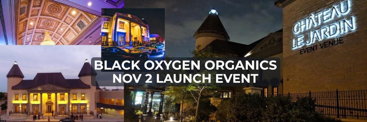 Black Oxygen Organics Kickoff Event
