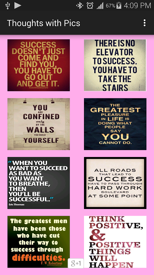 Motivational Thoughts in Pics- screenshot