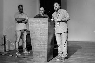 Photo: Los padrinos de Naukas (con la notable ausencia de Jose @InerciaCreativa) saludan al personal.