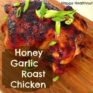 Honey Garlic Roast Chicken