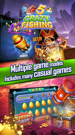 Crazyfishing 5- 2020 Arcade Fishing Game 1.0.3.10 screenshots 2