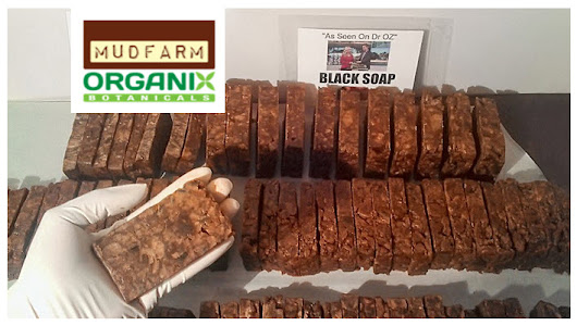 100% Hand Made African Black Soap