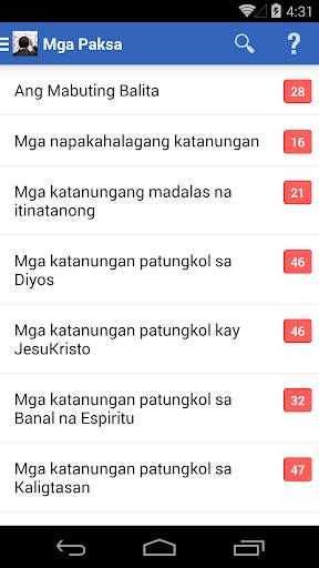 May Katanungan? 4.4.0 screenshots 1