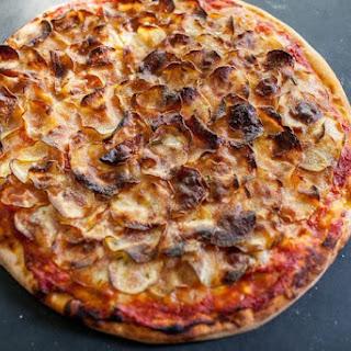 Vegan Crispy Potato Pizza Recipe