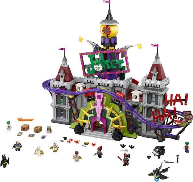 Contenido de Lego® 70922 Mansión del Joker