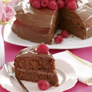 Chocolate Rum Raisin Cake.