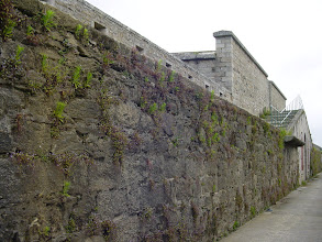 Photo: The massive granite walls of the fortifications date originally from the 14th century.