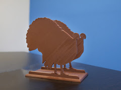 Thanksgiving Turkey Napkin Holder