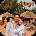 Village Cut Paste Photo Editor icon